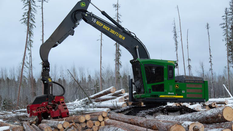 Forest Trotter - La Crete, Alberta - Logging Equipment - Processor