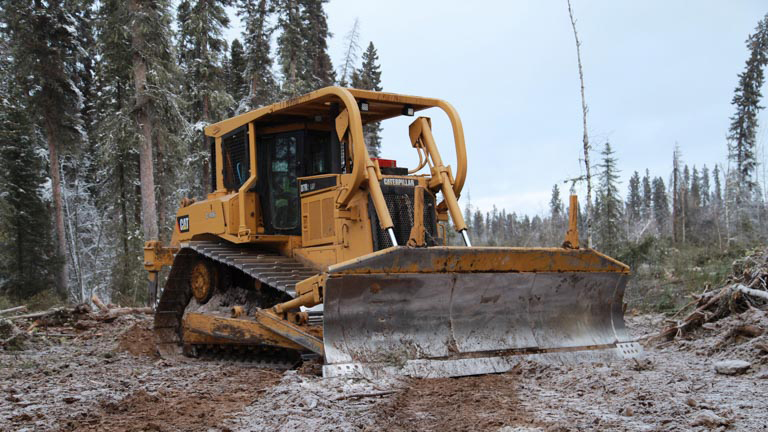Forest Trotter - La Crete, Alberta - Logging Equipment - Crawler/Bulldozer