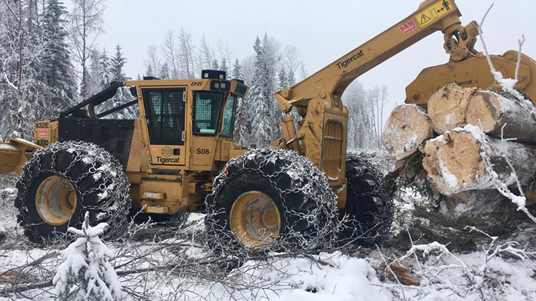 Forest Trotter - La Crete, Alberta - Logging Equipment - Skidder